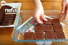 Brownie Pasta Tarifi – Pişmeyen nefis bir pasta Brownie Cake Recipe – ungekochter leckerer Kuchen I'll Try This! Yummy Recipes, Pie Recipes, Yummy Food, Oreo Cake, Brownie Cake, Nutella, Brownies, Coconut Macaroons, Brownie Recipes