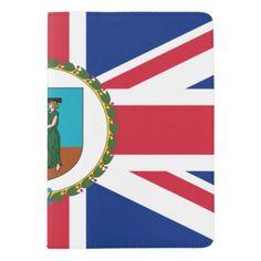 Montserratian flag passport holder