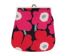 Mini-Unikko coin purse - cute!