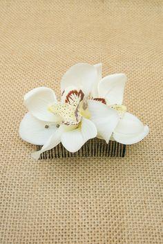 Pente Orquídea Selvagem | Can Can Acessórios