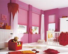 Mooi roze is niet lelijk. Duette® Shades van Luxaflex®.