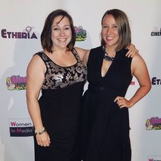 What a great night at the Egyptian Theater in Hollywood watching some amazing short films from female directors at #etheria2017!  @kilgoretrouting thanks for being my date!  Thanks @womennmedia for having us at your VIP pre networking event and congrats to all the filmmakers excellent work.  #womennmedia #redcarpet #etheria #egyptiantheater #hollywood #shortfilm #director #producer #writer #filmmaker #womeninfilm #directedbywomen #nightout #fancy #vip #networking #aboutlastnight…