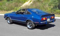 Blue 1978 Ford Mustang Cobra II Hatchback - MustangAttitude.com Mobile