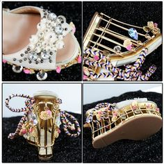 1ca74361bd0 Phoentin květina svatební obuv ženy platforma křišťálová nevěsta boty  kovové super vysoké podpatky 15cm krajka nahoru dámské sandály 2018 FT431