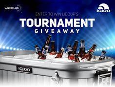 Are you ready for March Madness? Enter LiddUp's Tournament Giveaway for your shot to win a LiddUp Igloo Party bar (as seen on Shark Tank and The Today Show)!