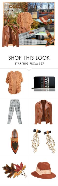 """Fall in Norway, Oslo Travel Outfit"" by ragnh-mjos ❤ liked on Polyvore featuring Ryan Roche, 3x1, WithChic, Christian Dior, Anne Klein and Eugenia Kim"