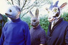 wicker man animal masks - Google Search
