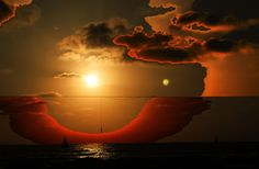 Surrealiste Sun Set by Jale Arditti, via 500px