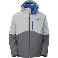 The North Face Salire Insulated Jacket Men's- High Rise Grey/Vandis Grey