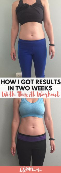 I don't have a 6-pack yet but I already see how this ab workout has toned up my abdominals in just 2 weeks!