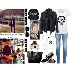 Продолжаем путешествовать по Европе!! by dashareus on Polyvore featuring мода, TIGHA, STELLA McCARTNEY, Vans, Witchery, Samsung and Gucci