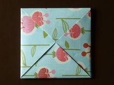 how-to-fold origami envelope - my favorite and secure - square paper