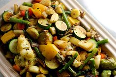 beauty detox with veggies