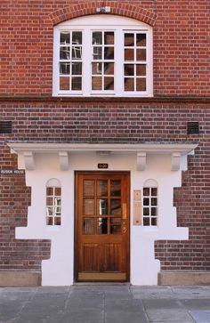 Ruskin House, Marsham Street, Pimlico, London, England, GB. Street House, Front Entrances, London Street, Doorway, Building A House, Garage Doors, London England, Interior, Outdoor Decor
