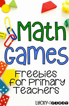 Math Games are the best way to reinforce math skills in your classroom! Grab some FREE games to help your students practice addition and subtraction! Print & GO Math games! Computer Games For Kids, Card Games For Kids, Math For Kids, Go Math, Math Help, Learn Math, Math Skills, Math Lessons, Free Math Games