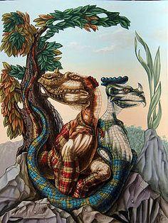 """The Lost World"" by Sir Arthur Conan Doyle (Pittura), cm da Victor Molev ""The Lost World"" by Sir Arthur Conan Doyle. Optical Illusion Paintings, Optical Illusions Pictures, Illusion Pictures, Cool Illusions, Art Optical, Hidden Images, Image 3d, The Lost World, Illusion Art"