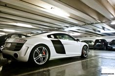 audi has come a long way. r8 v10 beautiful