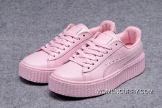 2dd8d453f1812 Puma Rihanna Suede Creepers All Pink Women Best