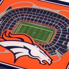 Leave the rings in the trophy case and keep them off your table with these Denver Broncos Stadium Coasters. These coasters depict Broncos Stadium at Mile High, home of the NFL's Denver Broncos. American Football League, National Football League, Denver Broncos Stadium, Broncos Wallpaper, Broncos Colors, Indianapolis Colts, Cincinnati Bengals, Football Fans, Coaster Set