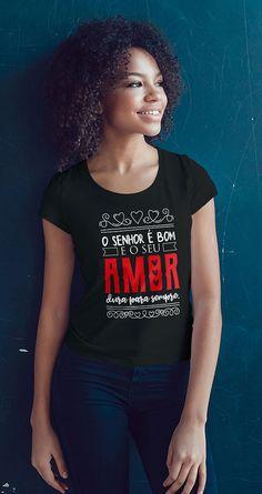 Camiseta O Senhor é Bom