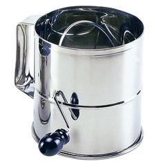 Norpro Polished 8-Cup Stainless Steel Hand Crank Sifter (Amazon)