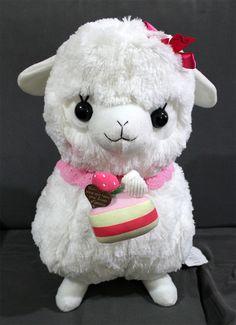 Japan Amuse Arpakasso Alpacasso Alpaca Plush Doll
