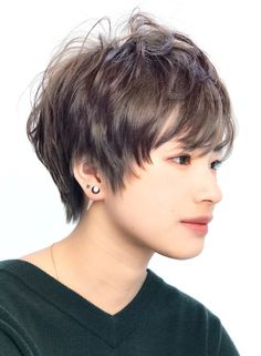 シルバーアッシュショート【RENJISHI KICHIJOJI】http://beautynavi.woman.excite.co.jp/style/detail/51439?pint≪ #shorthair #shortstyle #shorthairstyle #hairstyle・ショート・ヘアスタイル・髪形・髪型≫