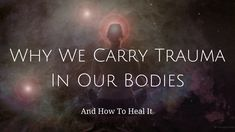 I often see patients from many walks of life, various socio-economic backgrounds, spanning blue-collar to white-collar careers (and beyond). But, no matter where we come from, or how our bodies manifest it, our bodies all hold onto trauma, unless we're given the tools to release it and channel it from our system. Click for full article >> http://alcantaraacupuncture.com/why-we-carry-trauma-in-our-bodies-and-how-to-heal-it/ (Artwork under creative commons by Hartwig HKD)