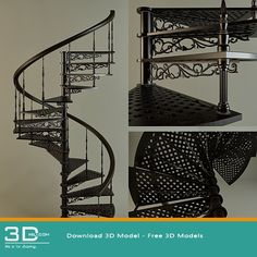 nice 66. Staircase 3D model free download Download here: https://3dmili.com/decoration/staircase/66-staircase-3d-model-free-download.html