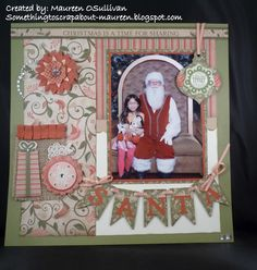 Let's Give 'em Something to Scrap About!: CTMH-- Pear & Partridge LO using SOTM Very Merry; Artiste