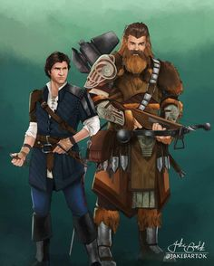 Medieval Fantasy Star Wars Fan Art Star Wars Art, Star Trek, Character Concept, Character Art, Concept Art, Han Solo And Chewbacca, Batman Tattoo, Star Wars Pictures, D D Characters