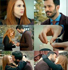 Movie Couples, Couples In Love, Rosemary Beach Florida, Hayat And Murat, Elcin Sangu, Film Movie, Movies, Perfect Boyfriend, Hard Workers