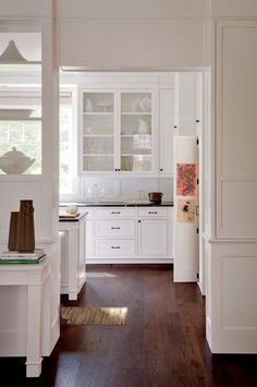 Lovely, classic white kitchen from Donald Lococo Architects | Classic | American Foursquare Revival