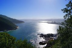 Knysna, South Africa  Where I went bungee jumping, and rode elephants