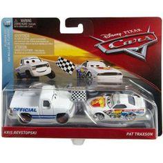 Disney/Pixar Cars Race Starter & Pace Car Vehicle 2-Pack