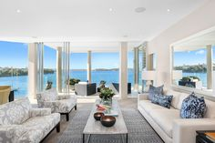The peace of being surrounded by the sea of #Sydney. #seeaustralia #amazing #lusso #realestate http://www.luxuryestate.com/p29176781-apartment-for-sale-sydney