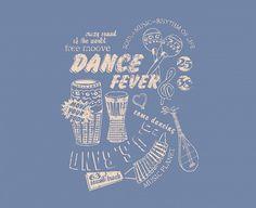 Dance Fever!  www.tapeterie.de