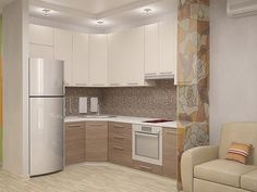 41 Amazing Wooden Kitchen Ideas ~ Home Decor Journal Kitchen Room Design, Modern Kitchen Design, Home Decor Kitchen, Interior Design Kitchen, Kitchen Furniture, Home Kitchens, Kitchen Ideas, Küchen Design, House Design