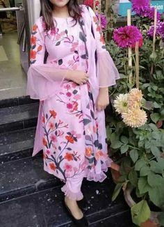 Com - Designer Dresses Short Salwar Designs, Kurta Designs Women, Kurti Designs Party Wear, New Kurti Designs, Sleeves Designs For Dresses, Dress Neck Designs, Blouse Designs, Stylish Dresses, Simple Dresses