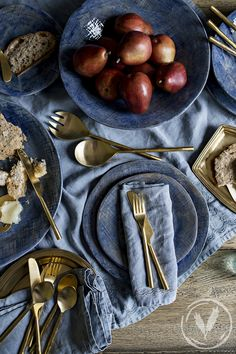 French Country Collections' Winter Table & a Flatbread Recipe French Country Collections, Winter Table, The Wiggles, Flatbread Recipes, Kitchen Dining, Dinner, Tables, Food, Blue Grey