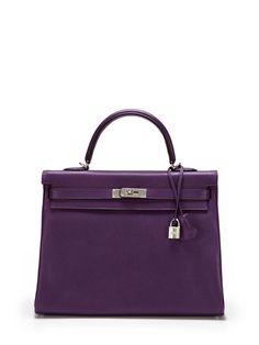 Ultraviolet Togo Kelly 35cm by Hermès on Gilt.com $17,500.