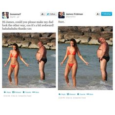 Funny Photoshop requests to James Fridman - 5