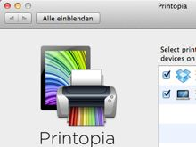 Printopia - effective tool for printing from your iPad - school use.