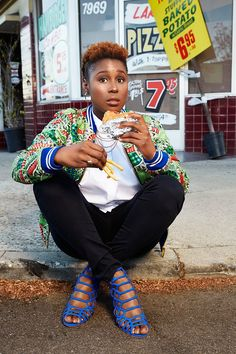 I binge-watched Insecure over 5-hour time frame and fell in love with this gem. I mean, the storyline was relatable to some, but can we talk about the wardrobe styling? #10Points