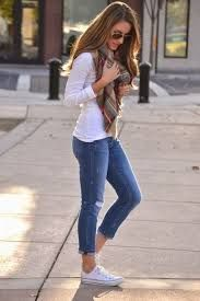 Image result for how to wear a white t shirt women