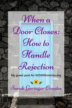 How to trust God even when you face rejection. #christianencouragement #rejection #discouragement #faith #trustgod #trustinthelord