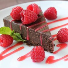 """Flourless Chocolate Cake I """"People will think you spent hours making this wonderful dessert yet it's so easy."""""""