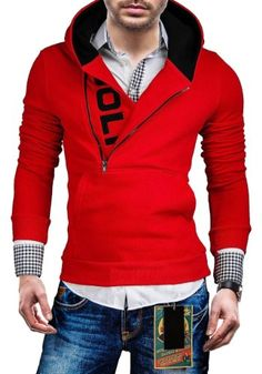 Get fashionable warm during colder days with a sweater vest! Get helpful fashion tips in wearing sweater vests right here! Sports Hoodies, Mens Fashion, Fashion Outfits, Fashion Tips, Red Hoodie, Sweater Vests, Sweaters, Casual Wear, Vogue