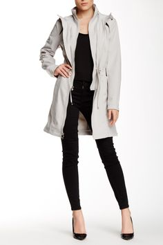 Softshell Anorak by Laundry By Shelli Segal on @nordstrom_rack