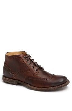 Frye 'Phillip' Wingtip Boot available at #Nordstrom